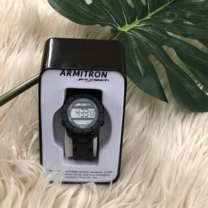 🔥SALE! Armitron Pro Sport Watch Black (NWT)
